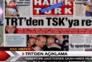 TRT:  Bizi TSK ile karşı karşıya getirmeyin