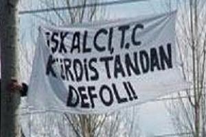 Pes!  İşgalci Türkiye, Kürdistan'dan defol