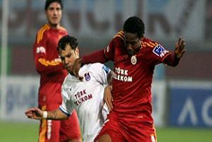 Galatasaray'da işler arap saçı: 1-0