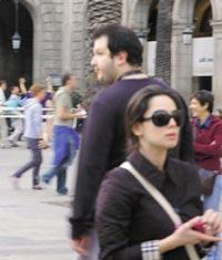 Recep İvedik'in yorgunluğunu Barcelona'da atıyor.11614