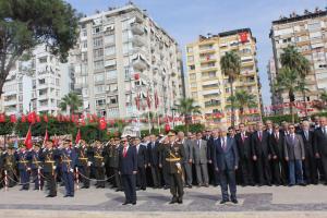 Adana'da Cumhuriyet Bayramı kutlamaları başladı.18534