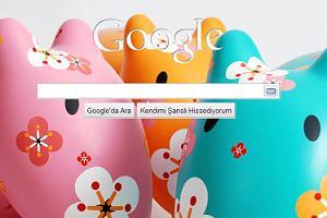 Google  arka plan resmini değiştir