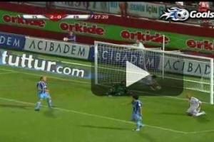 Trabzon Fenerbah�e ma��n�n golleri �ZLE.28592
