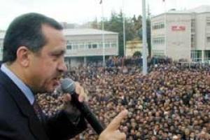 AKP Kazl��e�me mitingi ka� ki�i ile yap�ld�? AKP �stanbul mitingi.26705