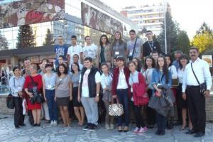 Arif Nihat Asya İlkokulu, AB projesi için Bulgaristan'da.16410