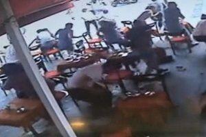 Beyoğlu'nda kafeye silahlı saldırı!.18296