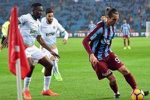 Trabzonspor'un galibiyet serisine Alanya freni.25816