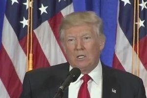 Donald Trump konuştu