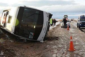 Cenaze dönüşü feci kaza: 2 ölü, 5 yaralı.25290