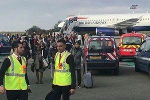 Paris'te alarm! British Airways uçağı boşaltıldı!.23792