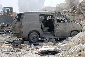İdlib'de patlama! Ölüler ve yaralılar var!.26476