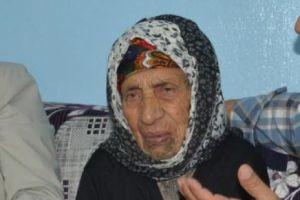 105 yaşındaki Meryem Nine uzun yaşamanın sırrını anlattı.15268