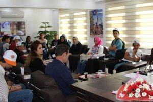 Başkan Tutal, Gazi Ortaokulu öğrencilerini ağırladı.21674