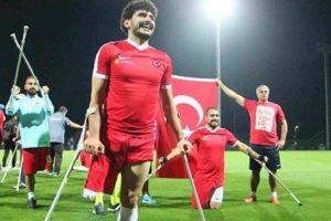 Türkiye Ampute Milli Takımı finale kaldı!.20725