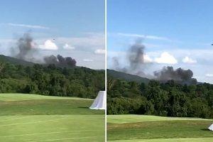 ABD karıştı! Bu kez helikopter düştü!.14831