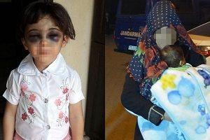 Çocuk döven üvey anneye tutuklama.21218