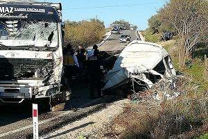 Hatay'da korkunç kaza: 11 ölü, 9 yaralı.37256