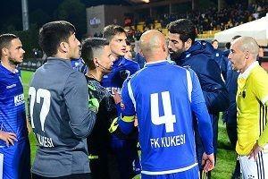 Fenerbahçe'nin hazırlık maçında gerginlik.30778