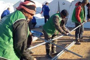 Humus'tan tahliye edilen Suriyelileri İHH karşıladı.26873