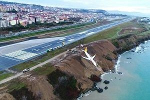 Trabzon Havalimanı uçuş trafiğine açıldı.25837