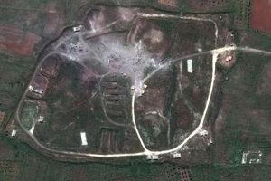 Suriye'deki yıkım uydudan görüntülendi!.19640