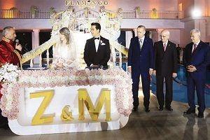 Devletin zirvesi, nikah töreninde bir araya geldi.26921
