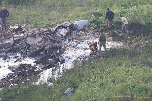 Suriye'de İsrail jeti düşürüldü!.34382