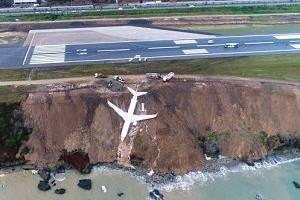 Trabzon'da yolcu uçağı pistten çıktı!.24826