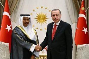 Cumhurbaşkanı, Kuveyt Başbakanı'nı kabul etti.21045