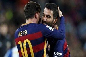 Messi'den Terim'in Arda karar�na yorum