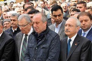 Kılıçdaroğlu Baykal'la cenazede buluştu.26436