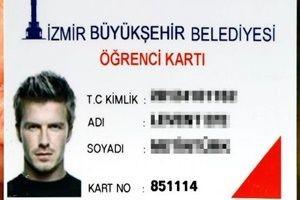 Belediye'den Beckham'lı kart yanıtı!.18052