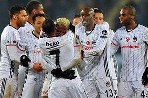 Beşiktaş, deplasmandan boynu bükük dönüyor.31786
