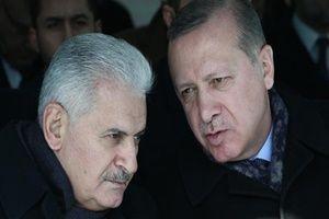 Erdoğan ve Yıldırım birlikte namaz kıldı.12766