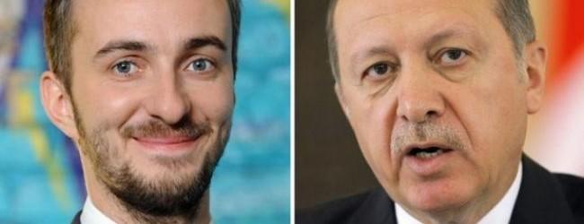 Erdoğan'dan Alman komedyene dava!