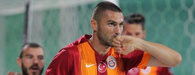 Galatasaray alt�n de�erinde 3 puan kazand�
