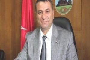 AK Partili başkana silahlı saldırı.13091