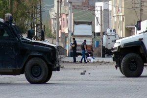 PKK bir polisi kaçırdı.21048
