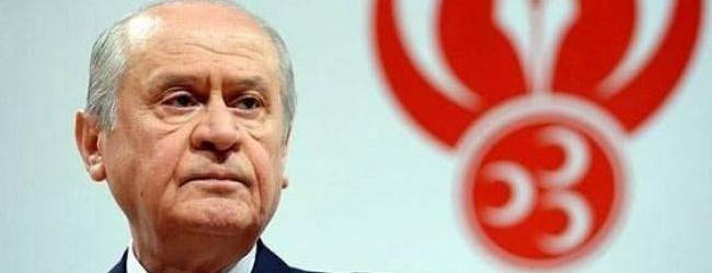 Bahçeli: Erdoğan Cumhurbaşkanı'dır