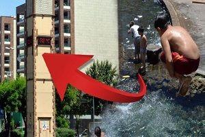 Diyarbakır'da termometreler 52'yi gördü.28344