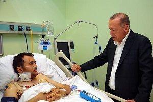 Erdoğan miting öncesi hastanede.21175