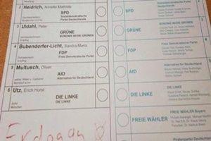 Almanya'daki seçimden Erdoğan'a oy çıktı.15736