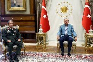 Erdoğan, Hulusi akar'la görüştü!.25693