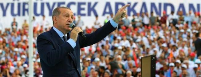 Erdoğan: Türkiye yol ayrımındadır