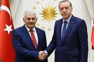 Erdoğan, Başbakan'la 2,5 saat görüştü.19086