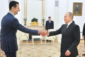 Putin, Esad ile o kentte buluştu