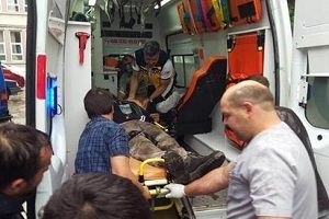 Bursa'daki patlamadan ilk g�r�nt�ler