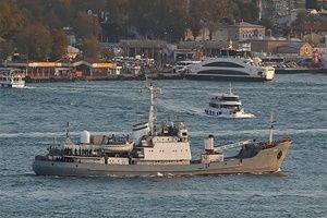 Rus Savaş gemisi Çanakkale'den geçti!