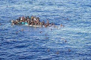 Kuşadası'nda göçmen faciası.38816