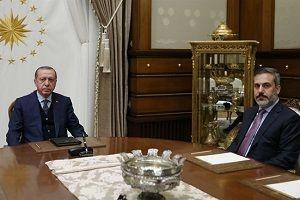 Erdoğan, MİT Başkanı ile buluştu